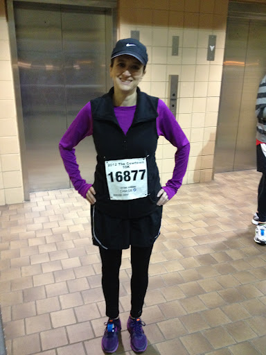 Cowtown 10K, February 25, 2012 (Race report)