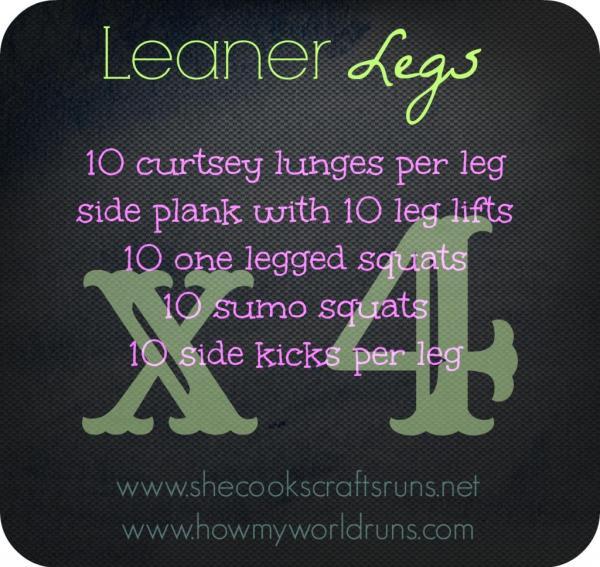 Leaner legs