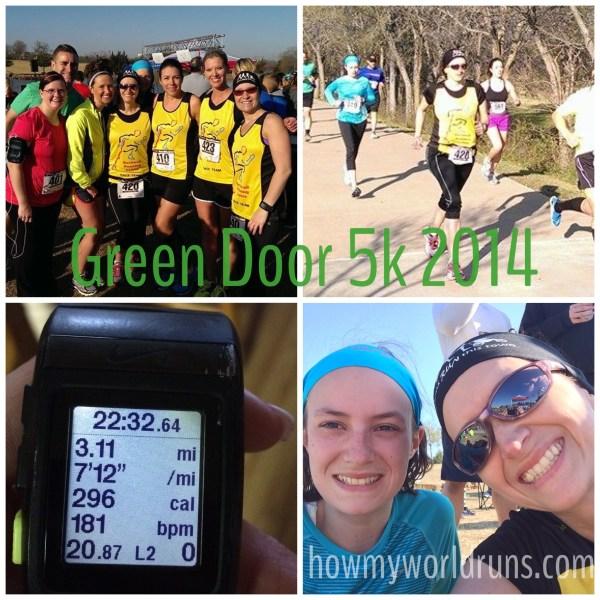Green door race