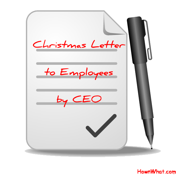 letter to ceo sample