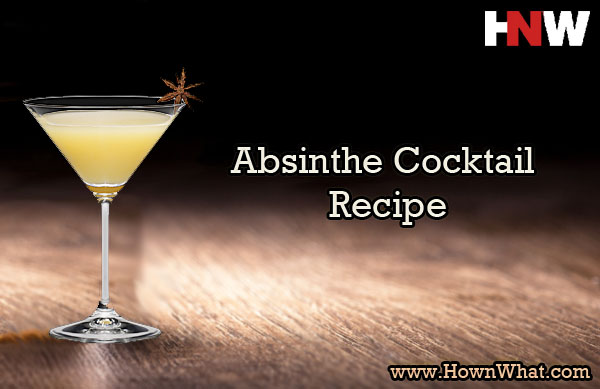 Absinthe Cocktail Recipe