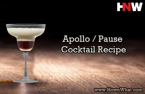 Apollo Pause Cocktail Recipe