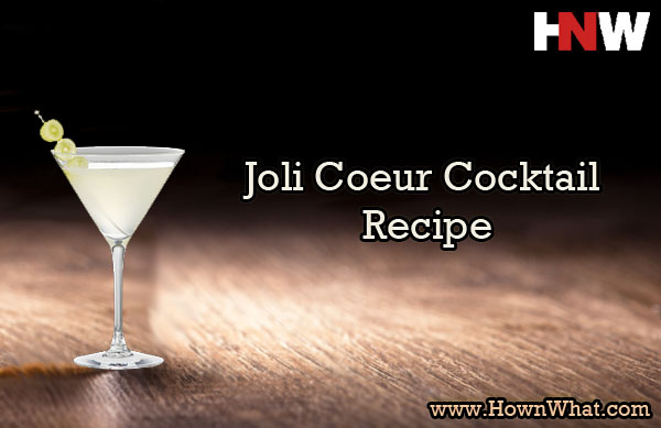 Joli Coeur Cocktail Recipe