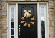door decorating ideas christmas