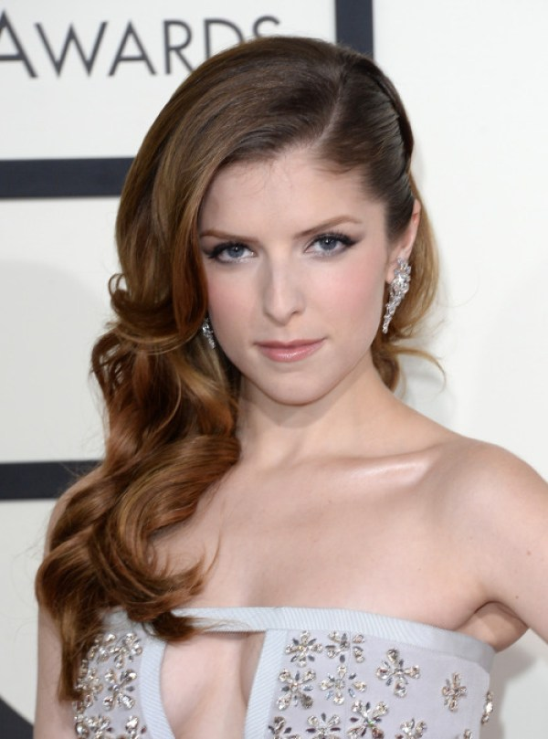 Anna Kendrick in White Dress