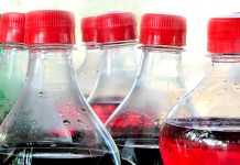 Plastic Bottles with caps