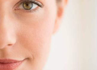 Healthy Face Skin Woman
