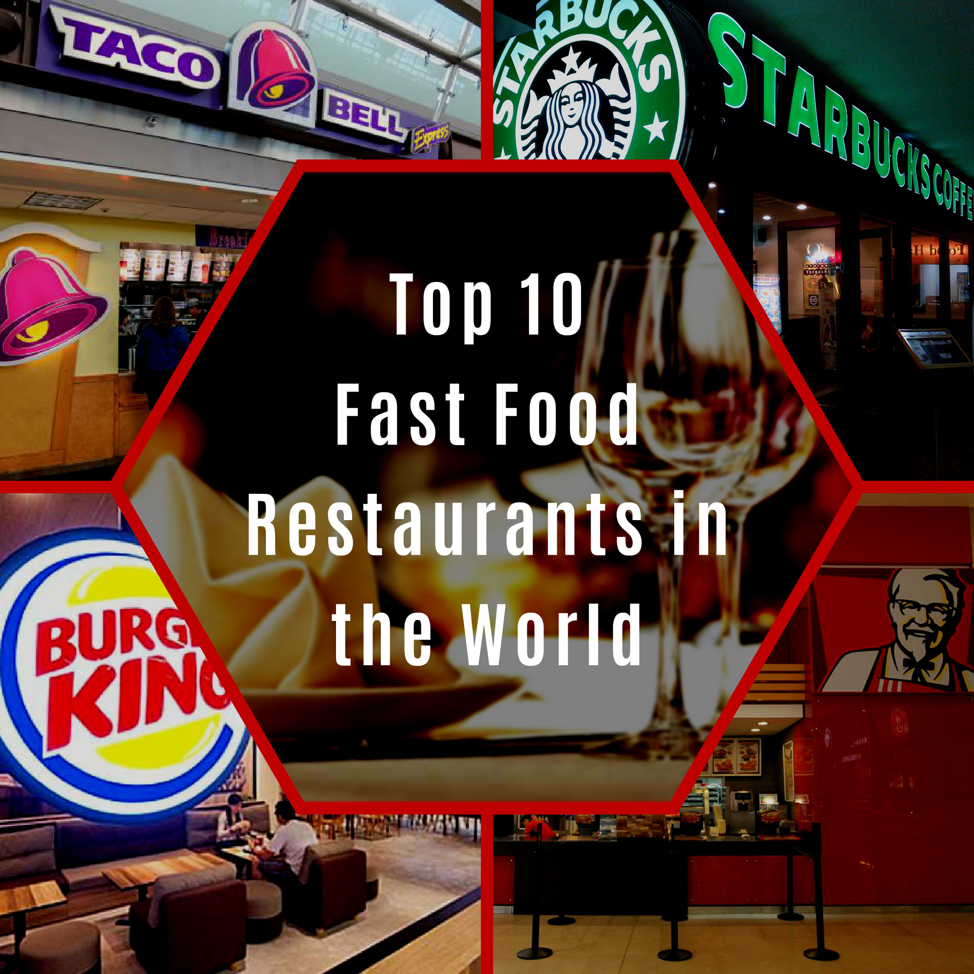 Fast Food Restaurants By Popularity