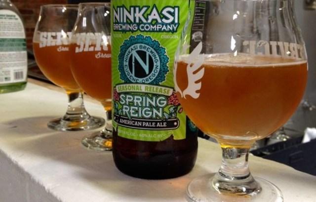 Ninkasi Spring Reign Beer