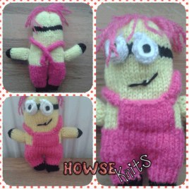 Knitted Despicable Me: Minions – Girl
