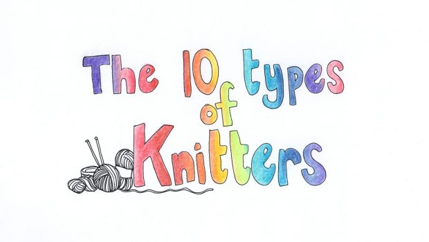 The 10 types of knitters