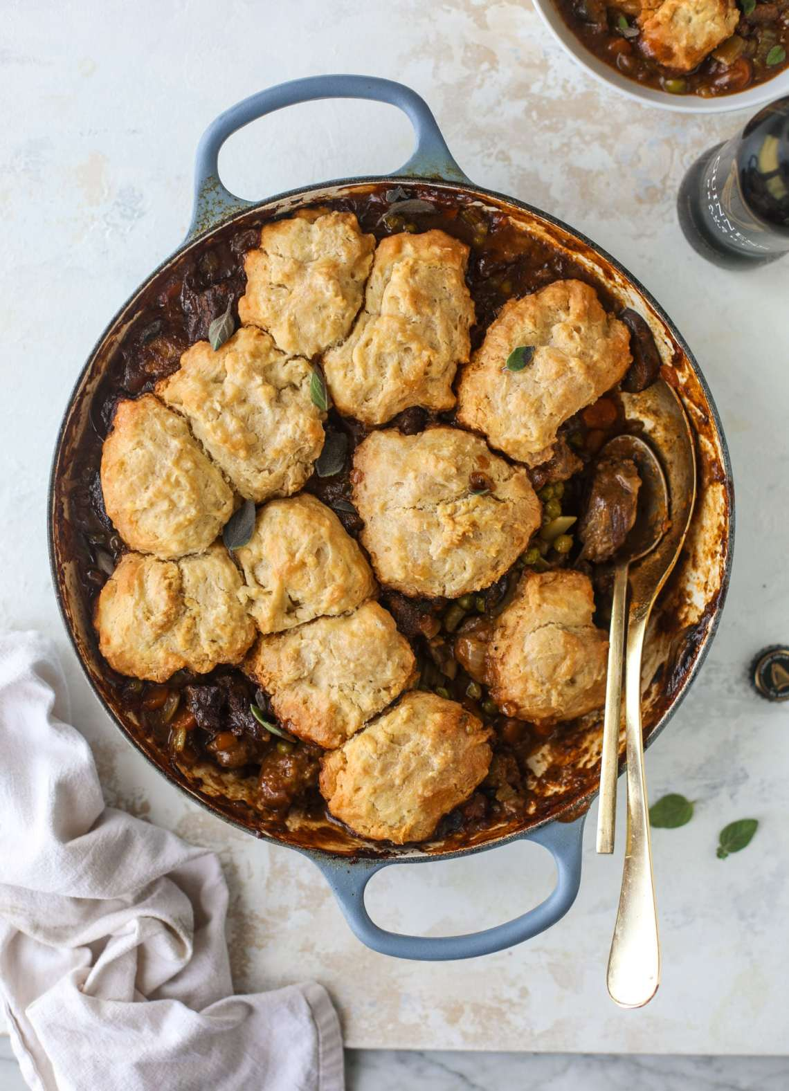 11 of my favorite Saint Patrick's Day recipes are here, like soda bread with salted honey butter and guinness short ribs with cauliflower mash. I howsweeteats.com #stpatricksday #recipes