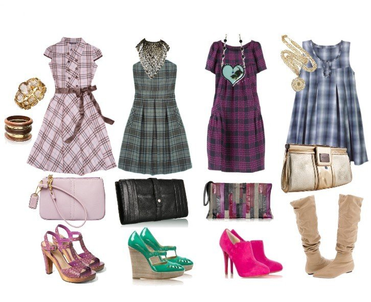 How to Wear Plaid Dresses: Tips & Ideas