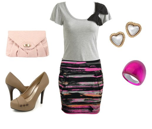 Daily Outfit Under $100: Abstract Print!