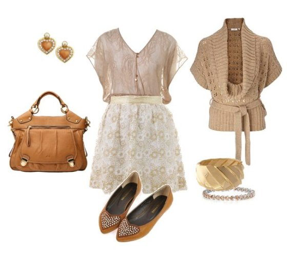 Trend Alert: Neutrals From Head To Toe 11