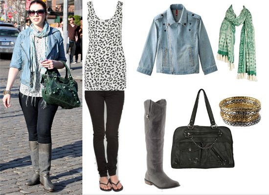 Get Her Style: Michelle Trachtenberg's 7-Piece Outfit for Less Than $260 9
