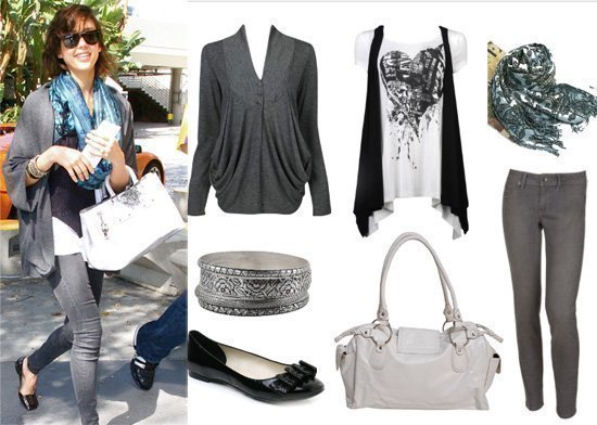 Get Her Style: Jessica Alba's 7-Piece Look for Less Than $200!