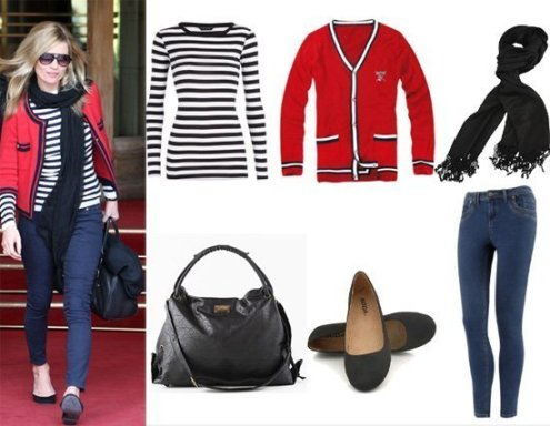 Get Her Style: Kate Moss's 6-Piece Outfit for $140! 1