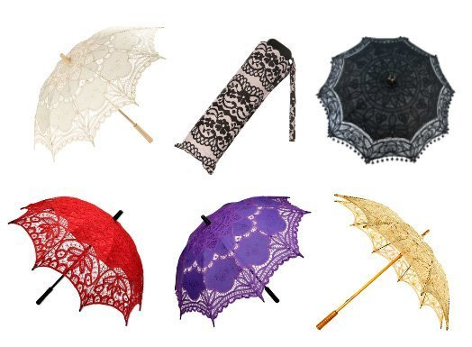 Shopping Time: Lace Umbrellas