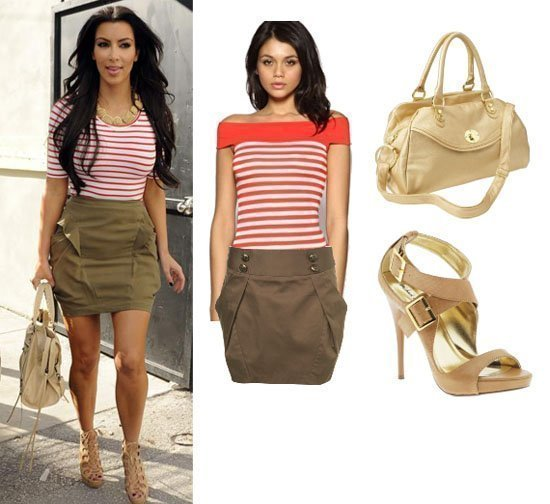 Get Her Style: Kim Kardashian's Look for Less Than $150! 17