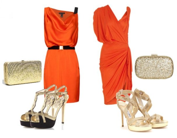 Orange Dress & Golden Sandals - Low Budget VS Mega Budget 1