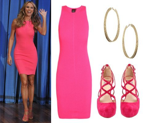Steal Her Style: Stacy Keibler's Head-to-Toe Hot Pink Outfit 13