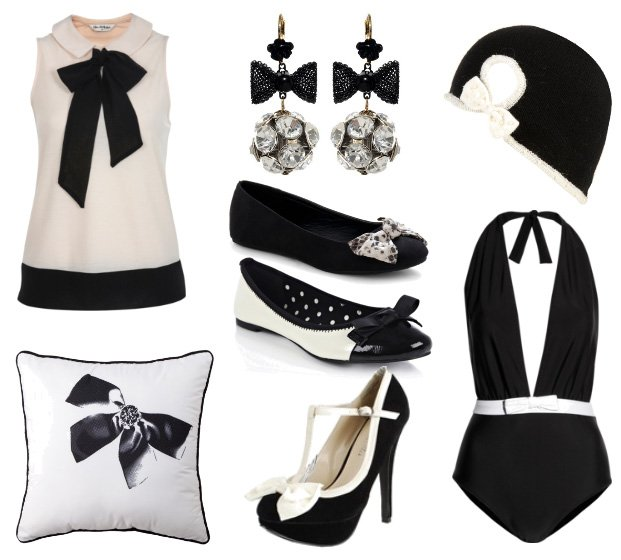 Trend Alert: 8 Black and White Bow Picks and How to Wear Them