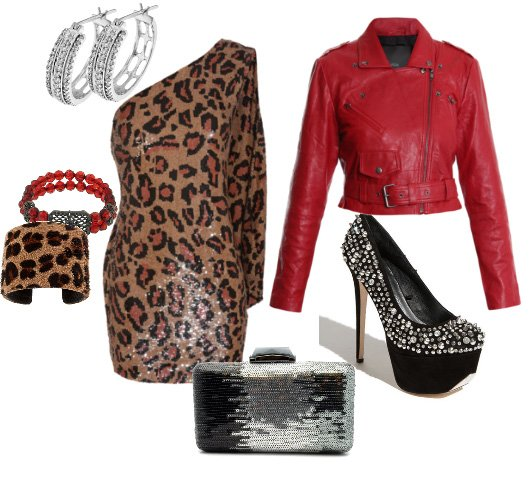 How to Combine Red with Leopard Without Looking Tacky