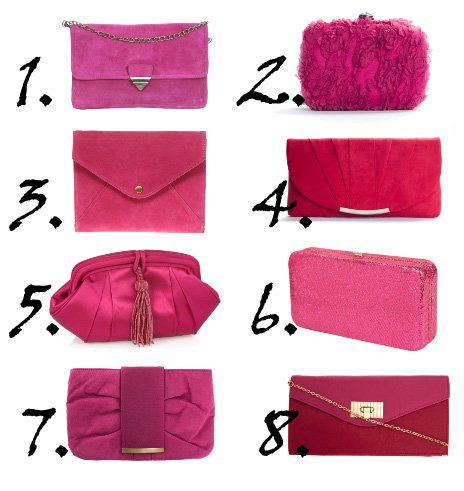 Shopping Time: Hot Pink Clutches Under $50