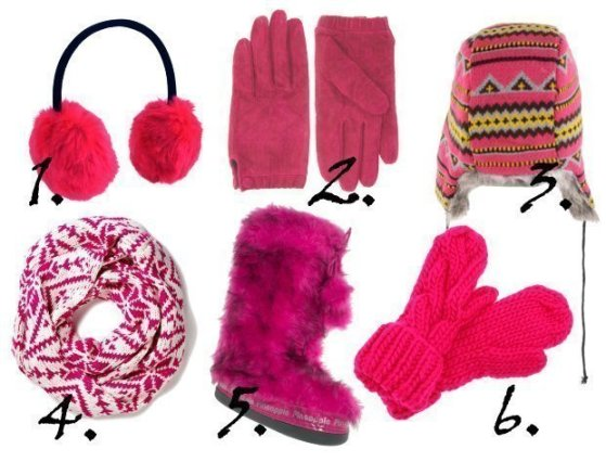 Pink Fun in the Snow - Warm Finds Under $40 1