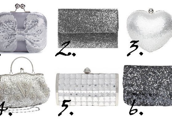 Shopping Time: Sparkly Silver Clutches Under $35 4