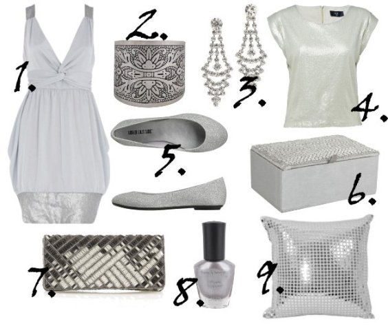 Cheapest Finds of the Week: Silver Shine and Sequin Sparkles 1