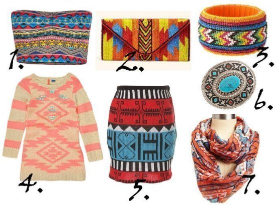 Trend Alert: Aztec Prints and Colors - 7 Picks From $8 to $68 1