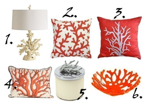 Decor Trends: Coral Inspiration - 6 Finds Under $170 3