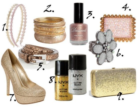Cheap Finds: 9 Silver, Gold and Pink Glitter Picks Under $10 2