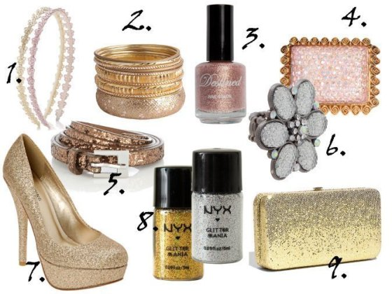 Cheap Finds: 9 Silver, Gold and Pink Glitter Picks Under $10 4