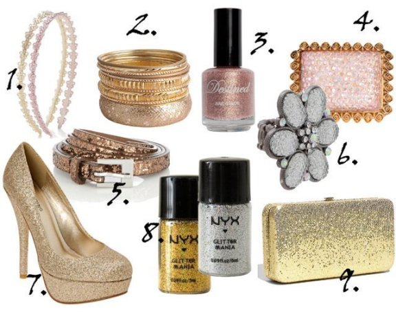 Cheap Finds: 9 Silver, Gold and Pink Glitter Picks Under $10 1