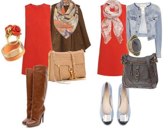 Reader's Request: How to Wear an Orange Dress 7