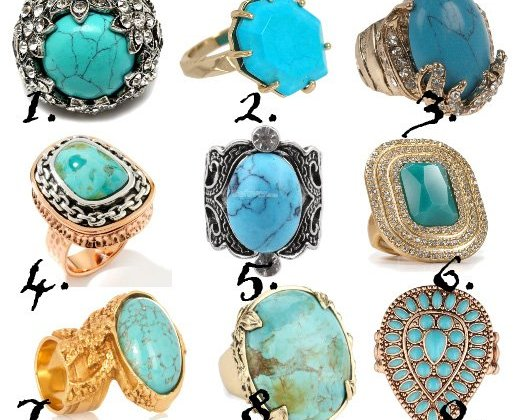 Finger Treats: 9 Turquoise Rings From $5 to $50 3