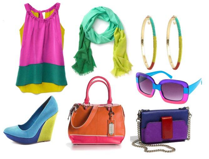 Colors Aloud! Vibrant Color-Block Picks Under $100