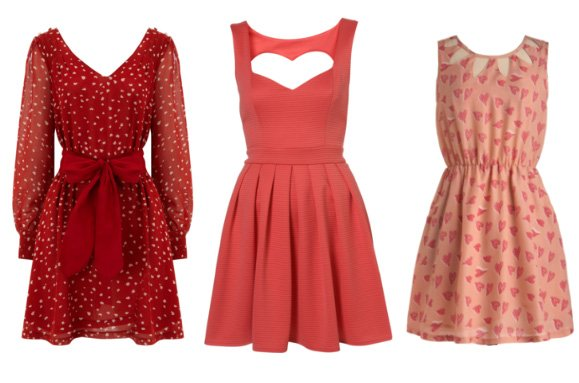 3 Great Picks for the Queen of Hearts: Rose & Red Heart Dresses 1