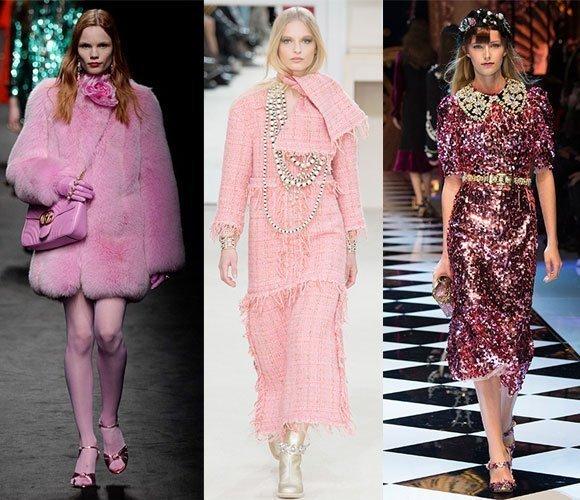 Bubble Gum Pink Fashion Trend 2017
