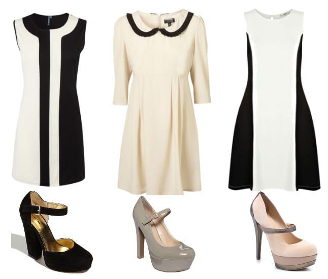 Black & White Retro Dresses on a Budget 5