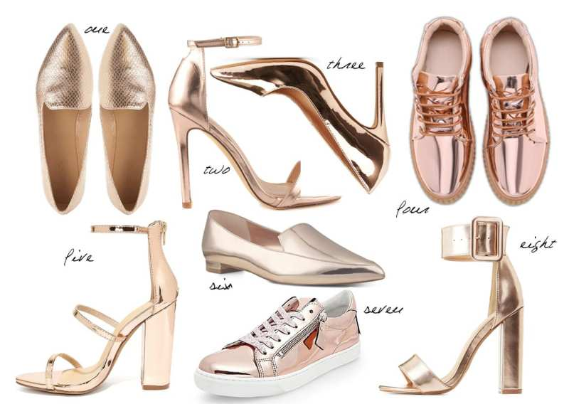 8 Rose Gold Flats & Heels Under $50 1