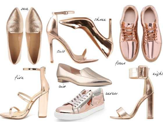 8 Rose Gold Flats & Heels Under $50 11