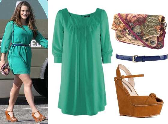 Get Her Style: Jessica Lowndes' Outfit for $93 7
