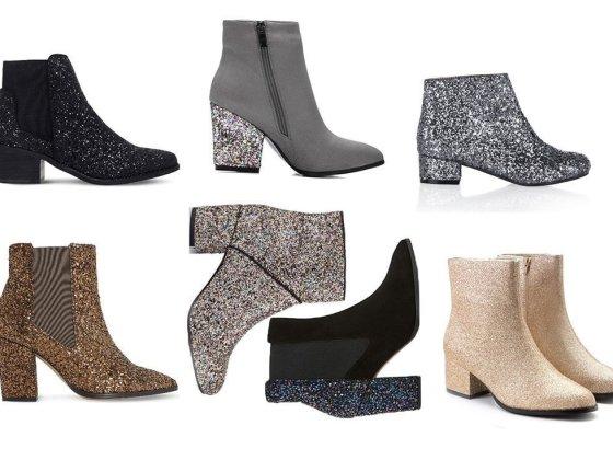 7 Sparkly Glitter Boots Under $100 4
