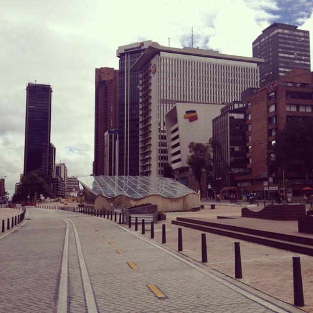 Bogota neighborhoods - Centro Internacional