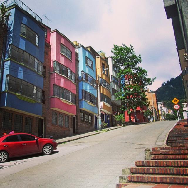 Bogota neighborhoods - La Macarena - where to stay in Bogota