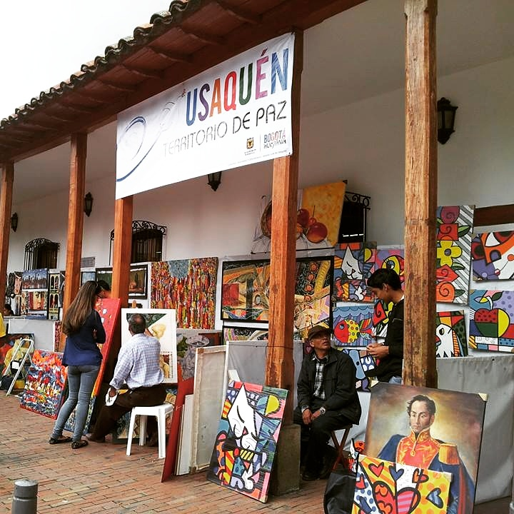 Bogota neighborhoods - Usaquen - where to stay in Bogota